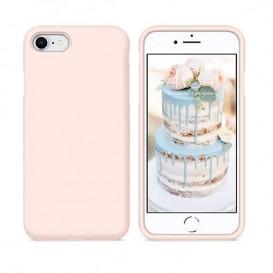 Custodia Silicone iPhone 7 / 8 / SE 2020 Rosa Sabbia