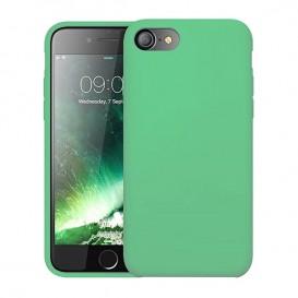 Custodia Silicone iPhone 7 / 8 / SE 2020 Verde Smeraldo