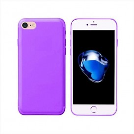 Custodia Silicone iPhone 7 / 8 / SE 2020 Lilla