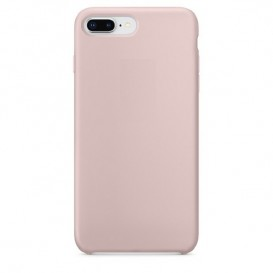 Custodia Silicone iPhone 7 Plus / 8 Plus Rosa Sabbia