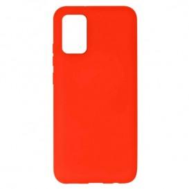 Custodia in Silicone per Samsung A02s colore Rossa