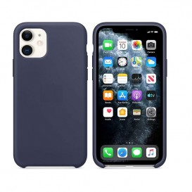 Custodia in Silicone iPhone 11 Blu