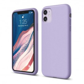 Custodia Silicone iPhone 11 Lilla