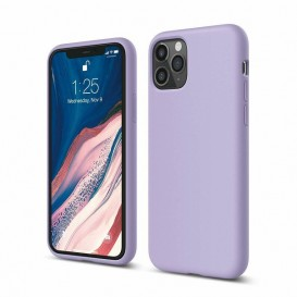 Custodia Silicone iPhone 11 Pro Lilla