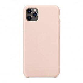 Custodia Silicone iPhone 11 Pro Max Rosa Sabbia