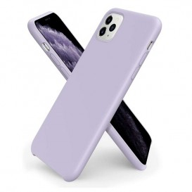 Custodia Silicone iPhone 11 Pro Max Lilla