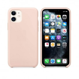 Custodia in Silicone iPhone 11 Rosa Sabbia