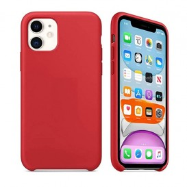 Custodia Silicone iPhone 11 Rossa