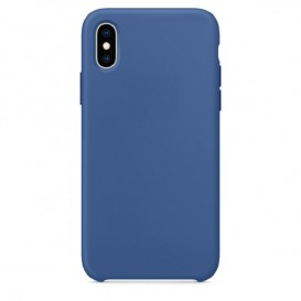 Custodia Silicone iPhone X / XS Blu