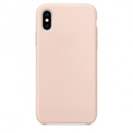 Custodia Silicone iPhone X / XS Rosa