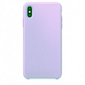 Custodia Silicone iPhone X / XS Lilla