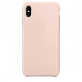 Custodia Silicone iPhone XS Max Rosa