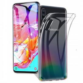 Custodia TPU Samsung A70 trasparente
