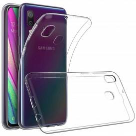 Custodia TPU Samsung A40 trasparente