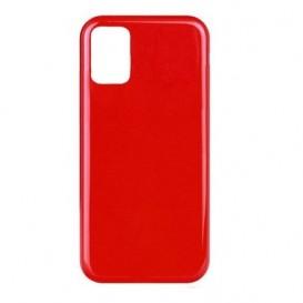 Custodia Silicone Samsung A41 Rossa