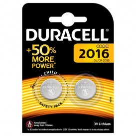 Duracell CR2016 2 pz.