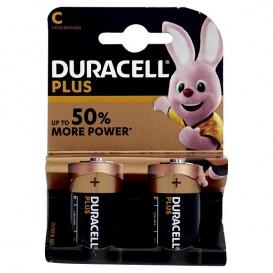 Duracell Plus Power C 2 pz.