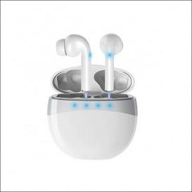 Doppio auricolare Bluetooth bianco M2-TEC modello M19