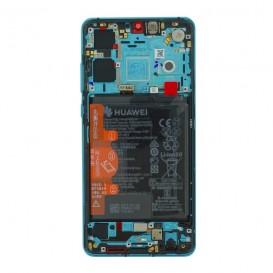 Huawei P30 LCD / Touch AURORA BLU + Batteria Originale