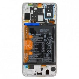 Huawei P30 Lite 48M LCD / Touch BIANCO + Batteria Originale