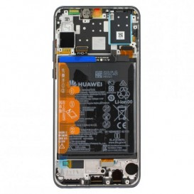 Huawei P30 Lite New Edition LCD / Touch NERO + Batteria Originale