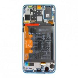 Huawei P30 Lite New Edition LCD / Touch BLU+ Batteria Originale