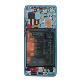 Huawei P30 PRO LCD / Touch AURORA BLU + Batteria Originale