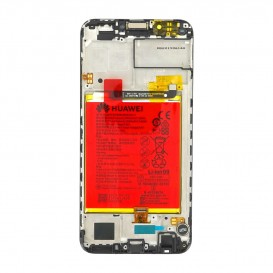 Huawei Y7 2018 LCD / Touch NERO + Batteria Originale