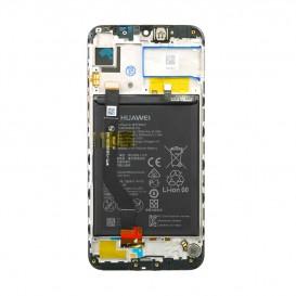 Huawei Y7 2019 LCD / Touch NERO + Batteria Originale