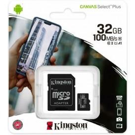 Scheda memoria 32GB Kingston MicroSD Classe 10