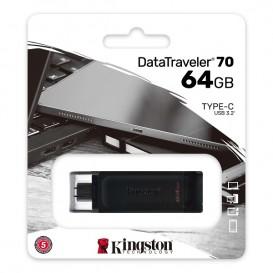 PEN DRIVE 64GB KINGSTON USB-C 3.2 DT70/64GB
