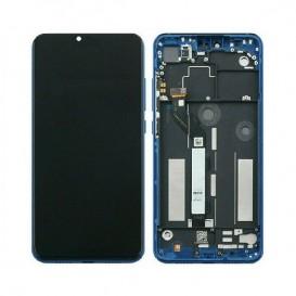 Lcd + Touch Xiaomi Mi 8 Lite blu con frame