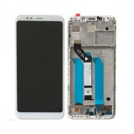 Lcd + touch Redmi 5 Plus Bianco con frame