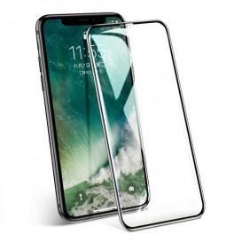 Pellicola vetro 10D iPhone X / XS / 11 Pro nera