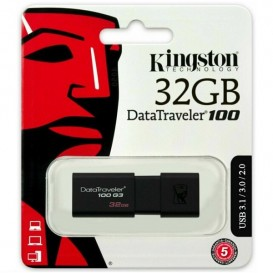 PEN DRIVE 32GB KINGSTON USB 3.0 DT100G3/32