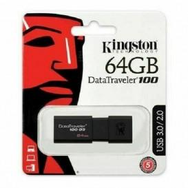 PEN DRIVE 64GB KINGSTON USB 3.0 DT100/64GB