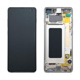 Samsung Galaxy S10 Plus Originale LCD Prism Bianco SM-G975F