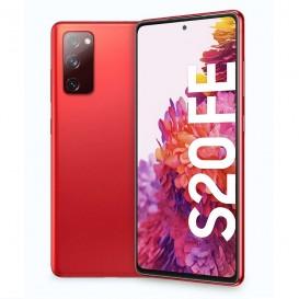 Custodia in Silicone per Samsung S20 FE colore Rosso