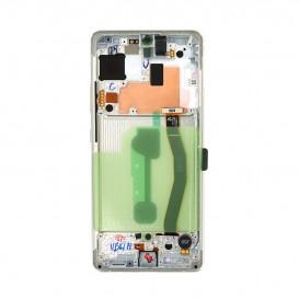 Samsung Galaxy S10 Lite Originale LCD Prism Bianco SM-G770F