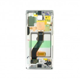 Samsung Galaxy Note 10 Originale LCD Screen Aura White SM-N970F