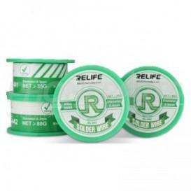 Filo per saldatura temperatura media (36/65) 55g 0.4mm marca Relife