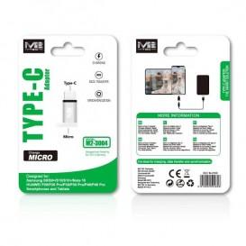 Adattatore microUSB TO Type C - M2 TEC - Bianco