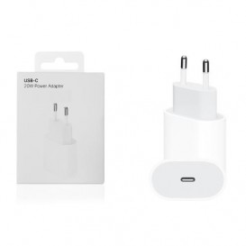 USB-C Power Adapter 20W compatibile bianco