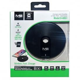 Caricabatterie wireless rapido 10w modello M2 TEC V-4851