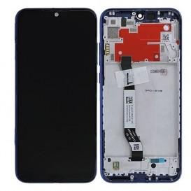 Xiaomi Redmi Note 8T LCD + Touch compatibile con frame no logo Blu